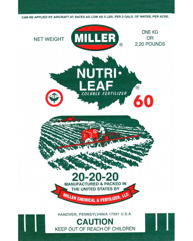 NUTRILEAF 20-20-20 1kgr